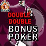 Double Double Bonus Poker (10 Hands)