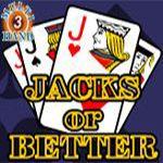 Jacks or Better (3 Hands)