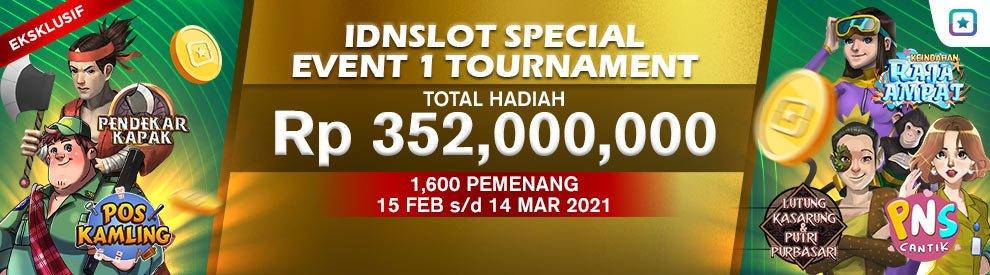 Idnslots Special Event 1 Tournament